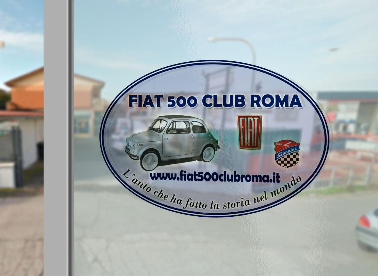 fiat 500 club roma l 39 auto che ha fatto la storia del mondo. Black Bedroom Furniture Sets. Home Design Ideas