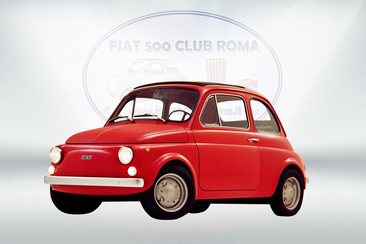 fiat 500 club roma i modelli della fiat 500 fiat 500 club roma. Black Bedroom Furniture Sets. Home Design Ideas