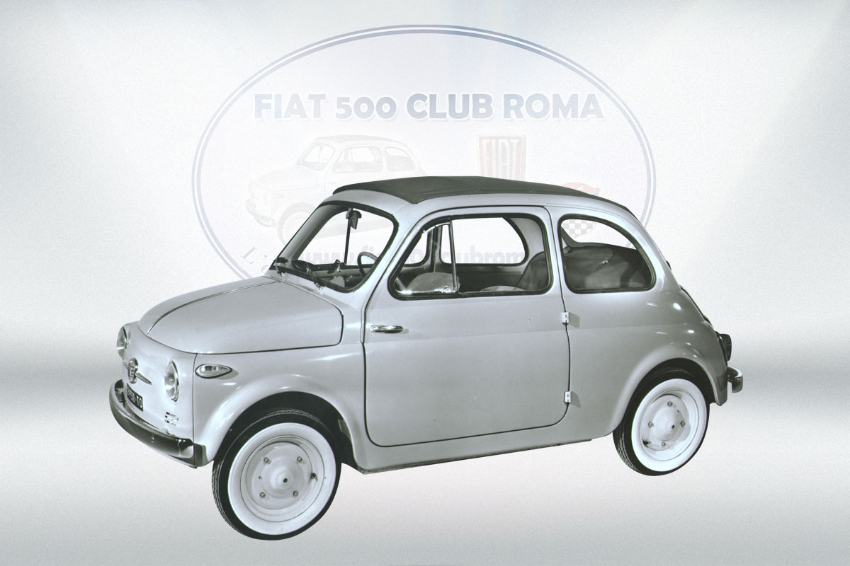 fiat 500 club roma i modelli della fiat 500 fiat 500 club roma. Black Bedroom Furniture Sets. Home Design Ideas