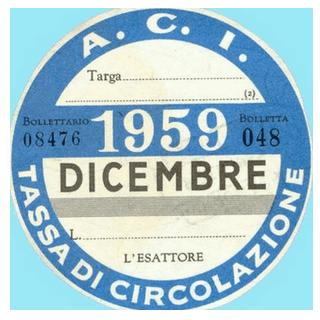 Bollo 1959