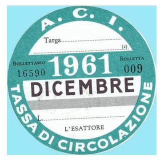 Bollo 1961