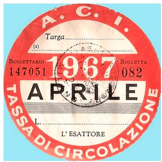 Bollo 1967