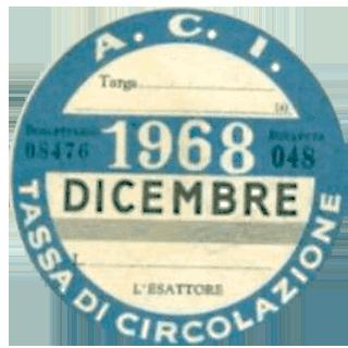 Bollo 1968