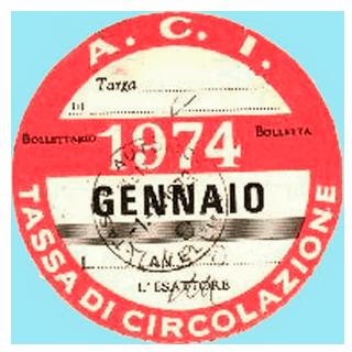 Bollo 1974